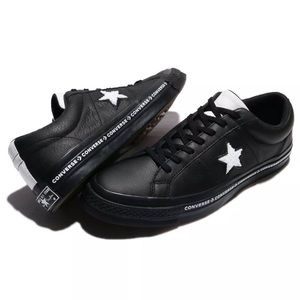 Converse One Star Terry Leather Sneakers 159721C